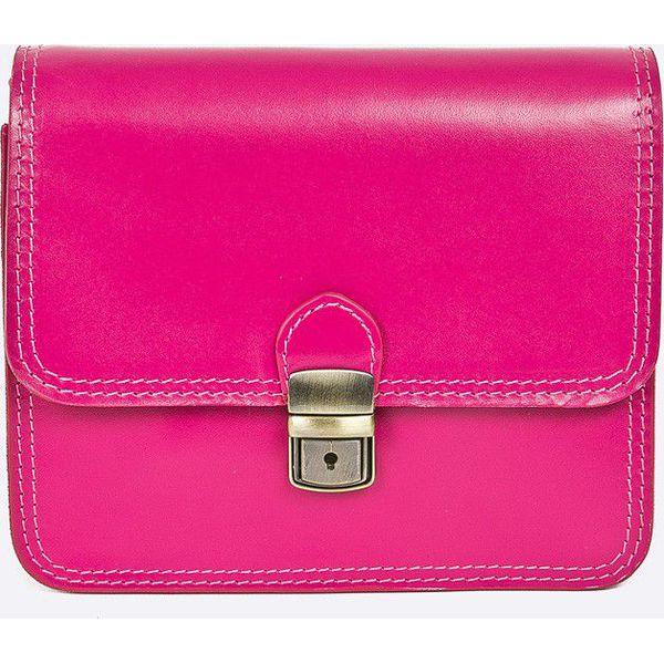 2ca5135544e53 Answear - Torebka skórzana City Jungle - Różowe torebki klasyczne ...