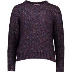 Sweter w kolorze fioletowym. Fioletowe swetry klasyczne damskie Gottardi, s, z wełny, z okrągłym kołnierzem. W wyprzedaży za 217,95 zł.