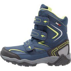 Buty zimowe chłopięce: KangaROOS REEN Śniegowce blue/lime