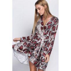 Bordowa Sukienka Natural Phenomenon. Czerwone sukienki hiszpanki Born2be, uniwersalny, mini. Za 109,99 zł.