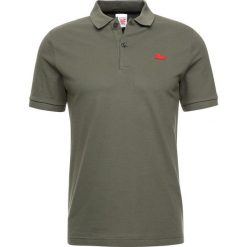 Lacoste LIVE Koszulka polo camouflage. Brązowe koszulki polo Lacoste LIVE, m, z bawełny. Za 379,00 zł.