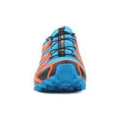 Buty do biegania Salomon  Speedcross 4 GTX 401248. Czarne buty do biegania męskie marki Salomon, z gore-texu, na sznurówki, gore-tex. Za 499,10 zł.