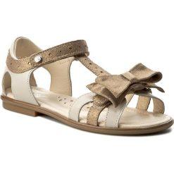Sandały dziewczęce: Sandały BARTEK – 19182-59X Beżowo Złoty