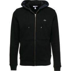 Lacoste Bluza z kapturem noir meridien. Czarne bluzy męskie rozpinane Lacoste, m, z bawełny, z kapturem. Za 509,00 zł.