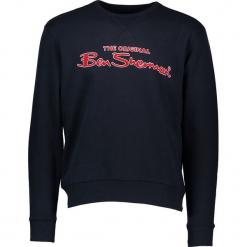 Bluza w kolorze granatowym. Niebieskie bluzy męskie rozpinane marki Ben Sherman, m, z haftami. W wyprzedaży za 173,95 zł.