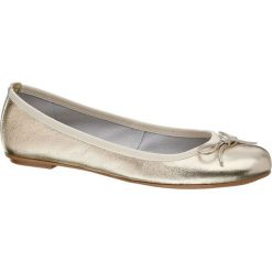 Baleriny damskie: baleriny damskie 5th Avenue złote