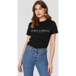 T-shirty męskie z nadrukiem: Acqua Limone T-shirt Classic – Black