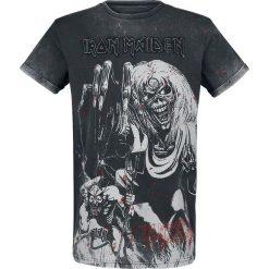 Iron Maiden EMP Signature Collection T-Shirt ciemnoszary. Szare t-shirty męskie Iron Maiden, xl, z aplikacjami, z okrągłym kołnierzem. Za 99,90 zł.