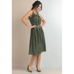 Odzież damska: Sukienka na lato bez rękawów