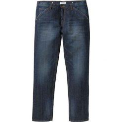 Dżinsy Regular Fit Straight bonprix ciemnoniebieski. Niebieskie jeansy męskie regular marki House. Za 79,99 zł.