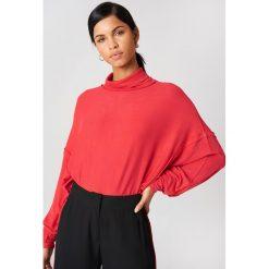 Free People Sweter Alameda - Red. Czerwone swetry oversize damskie Free People, z dzianiny. W wyprzedaży za 121,58 zł.
