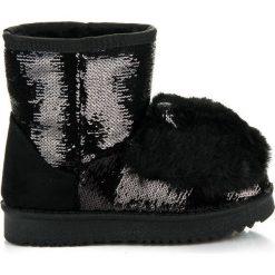 Buty zimowe chłopięce: Śniegowce z uszkami  izabella