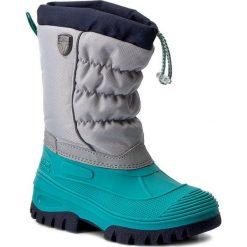Buty zimowe chłopięce: Śniegowce CMP – Kids Hanki 3Q48064K Argento Curacao 72BE