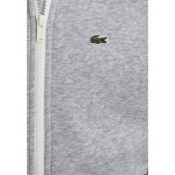 Lacoste Bluza rozpinana silver chine/white. Szare bluzy chłopięce rozpinane marki Lacoste, z bawełny. Za 319,00 zł.