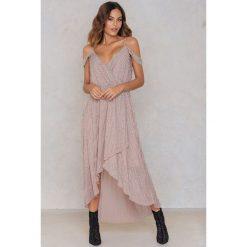 Sukienki hiszpanki: True Decadence Sukienka z zakładką – Pink,Multicolor