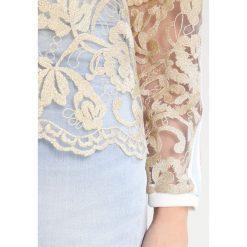 Bluzki asymetryczne: Karen by Simonsen ACT ICON COLLECTION Bluzka pale gold