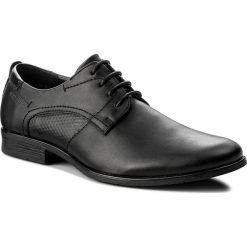 Półbuty OTTIMO - M17SS106-3. Czarne buty wizytowe męskie Ottimo, ze skóry ekologicznej. Za 99,99 zł.