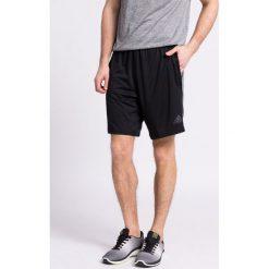 Adidas Performance - Szorty. Szare spodenki sportowe męskie adidas Performance, z dzianiny, sportowe. W wyprzedaży za 119,90 zł.
