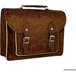 Torba na laptopa, torba na ramię, ekologiczna. Brązowe torby na ramię męskie marki Kazar, ze skóry, przez ramię, małe. Za 129,00 zł.