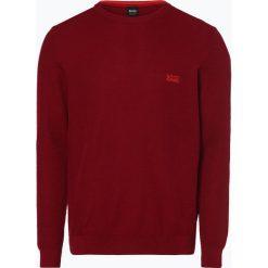 BOSS Athleisurewear - Sweter męski – Rafal, czerwony. Czerwone swetry klasyczne męskie BOSS Athleisurewear, l, z bawełny. Za 549,95 zł.