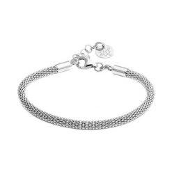 Bransoletki damskie na nogę: Srebrna bransoletka