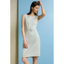 Sukienki: Sukienka z biżuteryjnym kółkiem