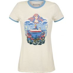 Ponyo - Das große Abenteuer am Meer Sea Frame Koszulka damska beżowy. Brązowe bluzki damskie Ponyo - Das große Abenteuer am Meer, l. Za 99,90 zł.