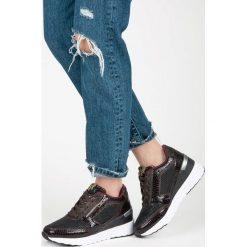 Buty ślubne damskie: Buty sportowe na koturnie MALIYAH