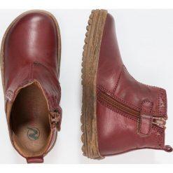 Naturino STORM Botki bruciato. Czerwone buty zimowe damskie Naturino, z futra. W wyprzedaży za 259,35 zł.