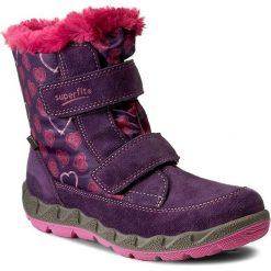 Kozaki dziewczęce: Śniegowce SUPERFIT – GORE-TEX 1-00015-54 Raisin Kombi