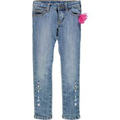 Brums - Jeansy dziecięce 104-128 cm. Niebieskie jeansy dziewczęce Brums, z bawełny. W wyprzedaży za 159,90 zł.