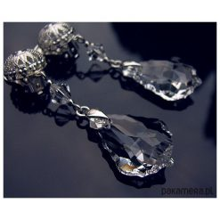Biżuteria i zegarki: Klipsy ślubne – kryształ Swarovski – Evie