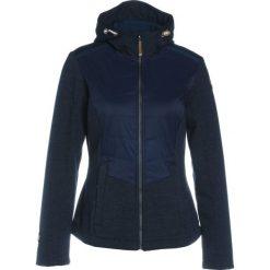 Icepeak TULIA Kurtka Softshell dark blue. Niebieskie kurtki sportowe damskie marki Icepeak, z bawełny. W wyprzedaży za 265,30 zł.