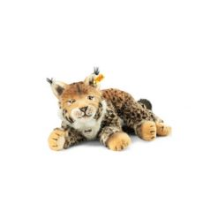 Steiff  Maskotka Ryś Mizzy 35cm. Brązowe przytulanki i maskotki marki Steiff, z materiału. Za 374,00 zł.