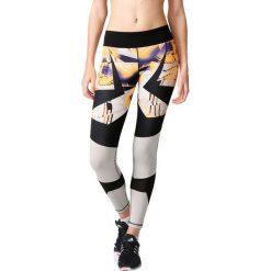 Spodnie damskie: Adidas Legginsy WOW Tight Drop 1 czarno-białe r. S (AP9532)
