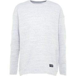 Swetry klasyczne męskie: Björn Borg BREEZE CREWNECK Sweter off white melange