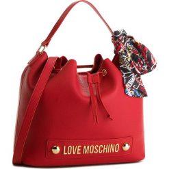 Torebka LOVE MOSCHINO - JC4122PP16LV0500 Rosso. Czerwone torebki klasyczne damskie Love Moschino, ze skóry ekologicznej, bez dodatków. Za 839,00 zł.