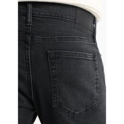 Jeansy męskie regular: Abercrombie & Fitch Jeansy Slim Fit mid grey