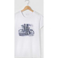 Bluzki dziewczęce: Koszulka z rowerem 10-16 lat