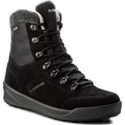Buty zimowe damskie: Śniegowce LOWA – Kazan II GTX Mid Ws GORE-TEX 420511  Black 0999
