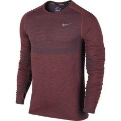 T-shirty męskie: koszulka do biegania męska NIKE DRI-FIT KNIT LONG SLEEVE / 717760-406 – NIKE DRI-FIT KNIT LONG SLEEVE