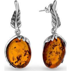 Biżuteria i zegarki: PROMOCJA Kolczyki Srebrne – srebro 925, Bursztyn