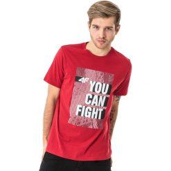 4f Koszulka męska H4L18-TSM013 czerwona r. M. Czerwone koszulki sportowe męskie 4f, l. Za 35,90 zł.