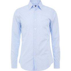 Tiger of Sweden FARRELL Koszula biznesowa blue. Brązowe koszule męskie marki Tiger of Sweden, m, z wełny. Za 419,00 zł.