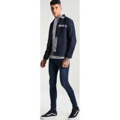 Topman VIOLA SPRAY ON TURK Jeansy Slim Fit stone. Szare jeansy męskie marki Topman. W wyprzedaży za 175,20 zł.