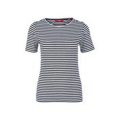 S.Oliver T-Shirt Damski 36 Ciemnoniebieski. Szare t-shirty damskie S.Oliver, s. W wyprzedaży za 89,00 zł.