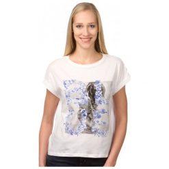 Pepe Jeans T-Shirt Damski Mini M Biały. Białe t-shirty damskie marki Pepe Jeans, m, z jeansu. W wyprzedaży za 108,00 zł.