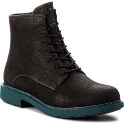Botki CAMPER - Neuman K400245-002 Black. Czarne buty zimowe damskie Camper, z materiału. W wyprzedaży za 399,00 zł.