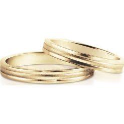 Obrączki - zestaw - Grawer GRATIS. Żółte obrączki W.KRUK, złote. Za 1458,00 zł.