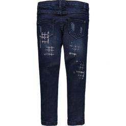 Brums - Jeansy dziecięce 104-128 cm. Różowe jeansy dziewczęce marki Mayoral, z bawełny, z okrągłym kołnierzem. W wyprzedaży za 139,90 zł.